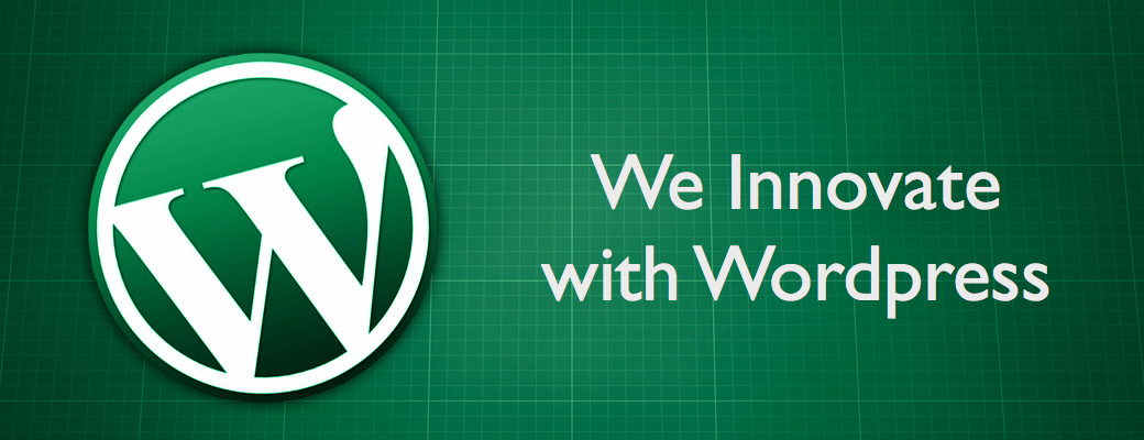 We Innovate with WordPress – Slider